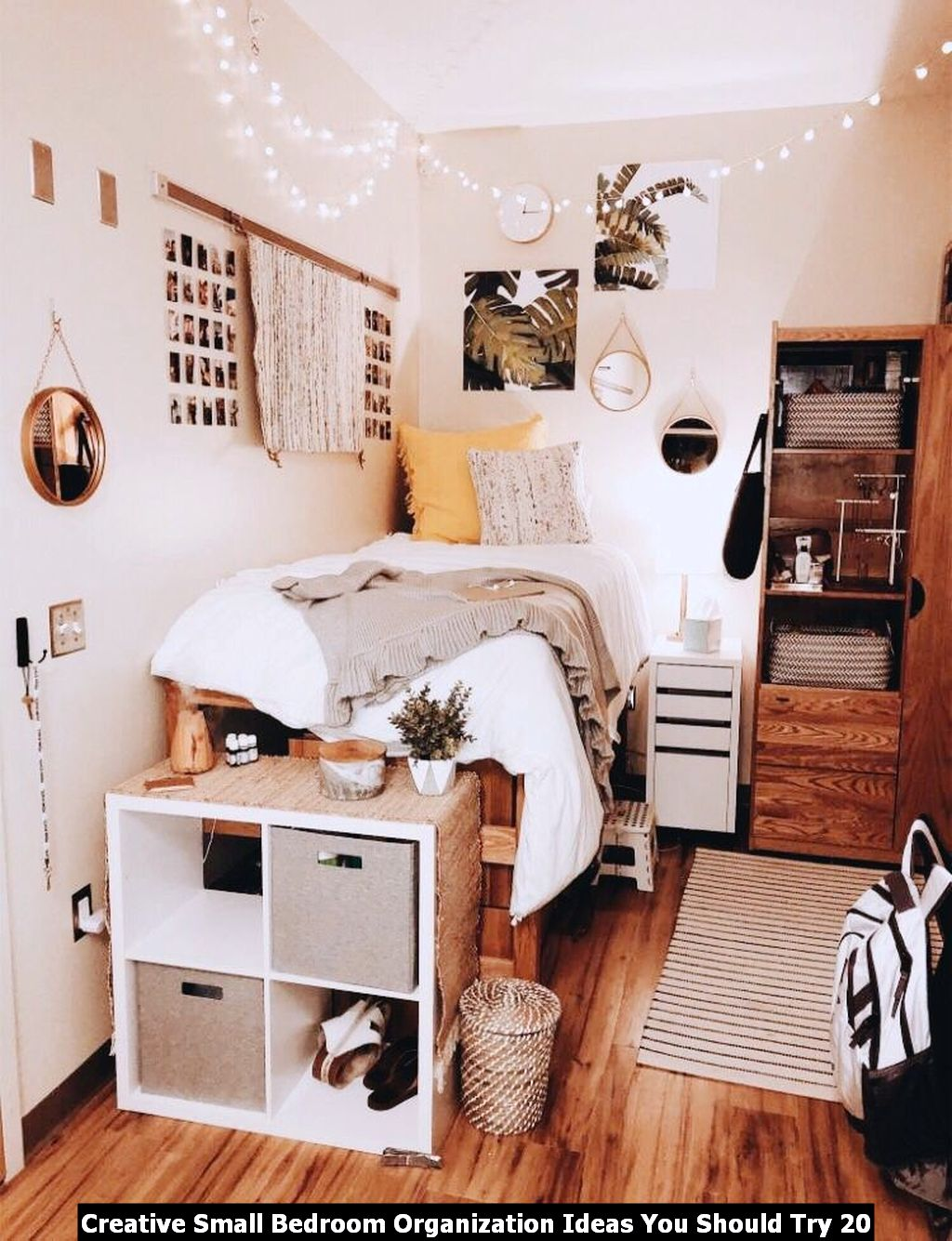 Creative Small Bedroom Organization Ideas You Should Try Engineering Basic