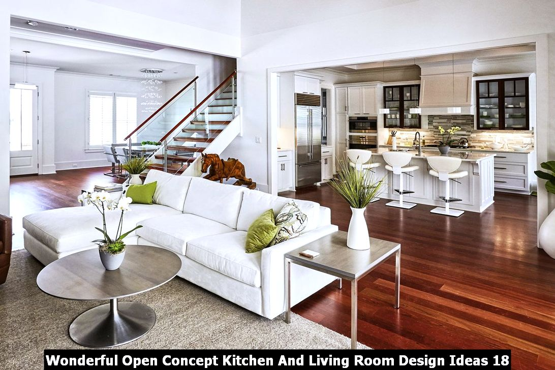 Wonderful Open Concept Kitchen And Living Room Design Ideas Engineering Basic