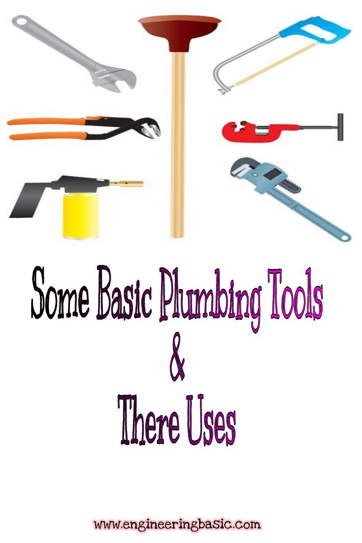 basic plumbing tools    engineering basic